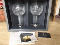 Waterford Crystal Millennium Toasting Goblets