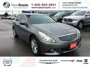 2012 Infiniti G25X Sedan AWD Luxury