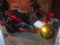 Lexmoto diablo 125cc scooter