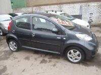 Peugeot 107 Millesim,5 door hatchback,1 previous owner,2 keys,FSH,Full MOT,£20 a year road tax