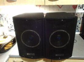 Pa speakers £30 cash