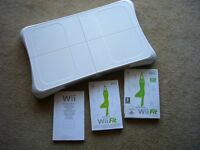 Wi Balance Board. White. Including Wi Fit program and booklets