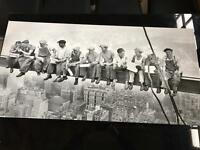 New York retro canvases