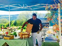BBQ & Chef hire London, BBQ hire, Chef hire, BBQ catering service London, Wedding catering service