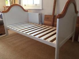 Obaby B is for Bear cot bed - white.