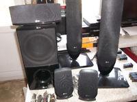 LG 5.1 Surround Sound Home Cinema Speaker System