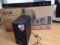 LG Sound Bar NB3520A 300W 2.1 Channel Sound System Bluetooth® Streaming Wireless