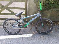 Rooster Armageddon grey/green BMX