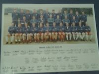 England 1966 World Cup Squad autographed print