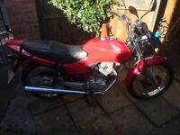 For sale is my Honda cg125