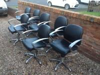Hairdressing chairs / salon / barbering pump up ( good condition ) £35 each