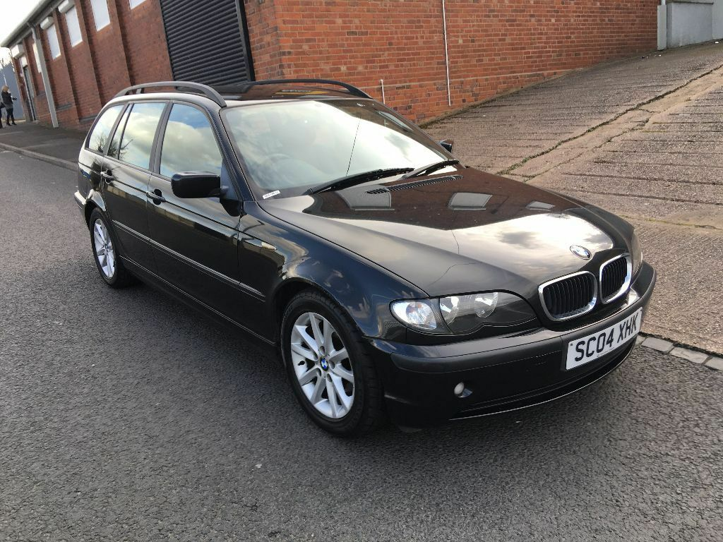 full leather interior 2004 bmw 3 series 2 0 318i es touring 5 door estate in stourbridge. Black Bedroom Furniture Sets. Home Design Ideas