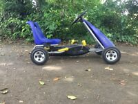 Childrens kettler pedal go-kart