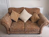Lovely antique style Sofa would suit cottage or Victorian house.