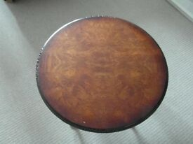 Vintage solid wood table in good original condition. By Shaw of London