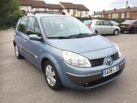 RENAULT SCENIC,,AUTOMATIC,,1.6 PETROL,, MILEAGE 99000,,TIME BELT IS CHANGED