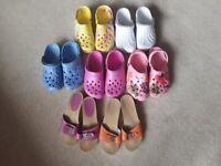 Ladies summer footwear - size 5