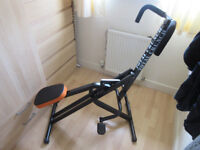 Total Crunch Exercise Cardio Ab Machine - USED