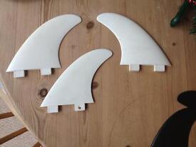 FCS 1 Surfboard fins