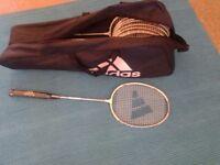 Adidas badminton racket Precision 8,silver