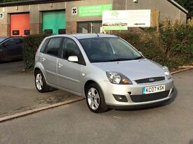 2007 Ford fiesta 1.4 Zetec Climate, Low Miles FSH