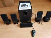 5.1 Multi-Media Speaker System