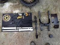 Various Pit bike parts