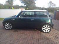 Mini cooper, 2004 (04),only 79500 miles, Same owner for the last eleven years.