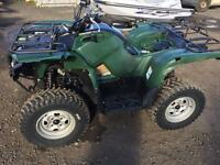 Yamaha grizzly 550 2014 quad bike