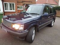 great condition p38 Range Rover.much sort after model