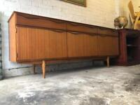 Vintage retro Midcentury teak danish design sideboard