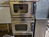 2 small commercial ovens