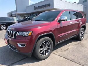 2018 Jeep Grand Cherokee Limited/leather/roof/htd seats