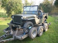 willys jeep wanted, or ford or hotchkiss