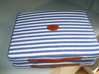 Seat Cushions, Pair - NEW Designer - El Caballo - Comfortable, Easy to Carry - Leather Handles