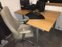 IKEA Home Office Desk & Chair
