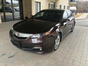 2012 Acura TL Sh-AWD, technology package