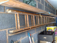 Wooden Extending Ladders