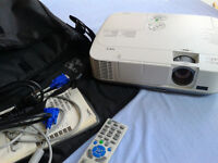 NEC M230X Projector / Very Bright Image / H.D.M.I.