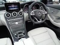 Mercedes-Benz C Class C 220 D AMG LINE PREMIUM PLUS (grey) 2016-10-31