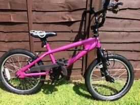 Girls bmx bike, excellent condition