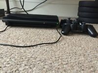 Sony Playstation PS3 500Gb super slim plus 2 controllers