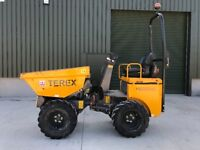 Terex HD1000 1 Ton High Tip Dumper 2012 ROAD LEGAL V5 Available 1 Owner 880hrs FINANCE ARRANGED