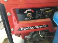 Generator for sale vgc