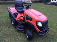 Lawn tractor ride on mower sit on lawnmower garden tractor