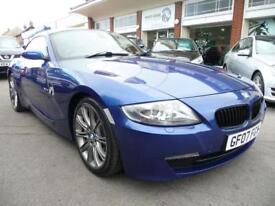 BMW Z4 3.0 Z4 SI SPORT COUPE 2d AUTO 262 BHP (blue) 2007