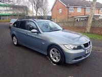 2008 BMW 320D SE TOURING,6 SPEED MANUAL,2 KEYS,NEW CLUTCH KIT,11 MONTHS MOT,07707755411