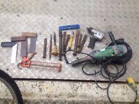job lot tools £15 the lot