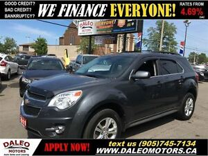 2011 Chevrolet Equinox 1LT 1 OWNER AWD no credit check leasing