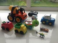 Selection of toy cars